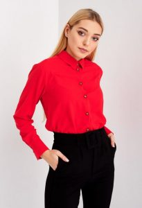червона блузка купити