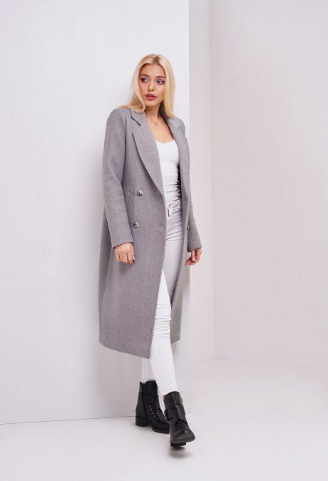 сіре пальто
